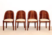 6 Art Deco chairs